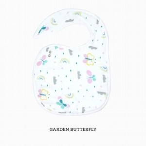 Garden Butterfly Snappy Bib