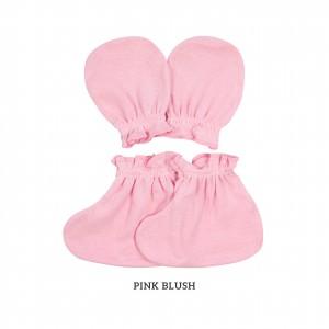 PINK BLUSH Mittens & Booties