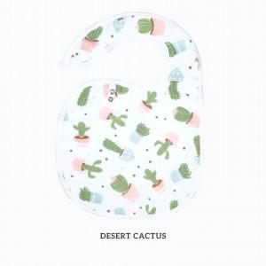 Desert Cactus Snappy Bib
