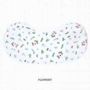 Flowery Burp & Bib