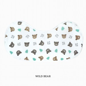 Wild Bear Burp & Bib