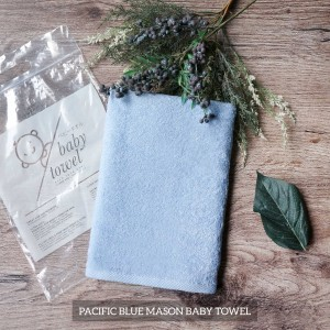 Pacific Blue Mason Baby Towel