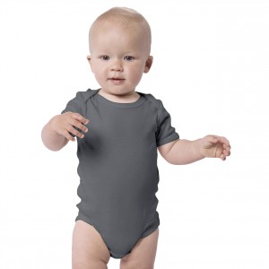 CHARCOAL Everyday Wear Bodysuit Short Sleeve (Jumper)