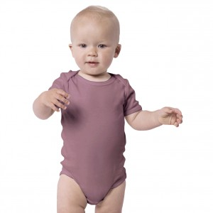 DUSK PURPLE Everyday Wear Bodysuit Short Sleeve (Jumper)