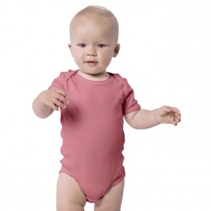 DUSTY ROSE Everyday Wear Bodysuit Short Sleeve (Jumper)