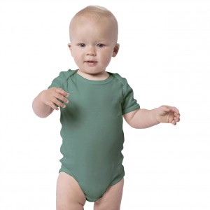 FOREST GREEN Everyday Wear Bodysuit Short Sleeve (Jumper)