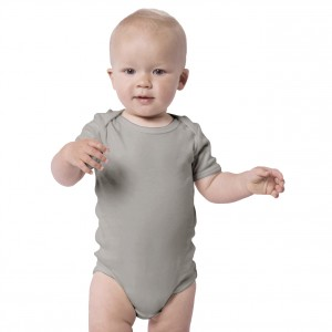 STONE GREY Everyday Wear Bodysuit Short Sleeve (Jumper)