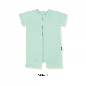 GREEN Zippy Playsuit