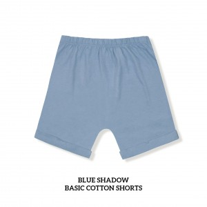 BLUE SHADOW Basic Cotton Short