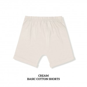 CREAM Basic Cotton Short