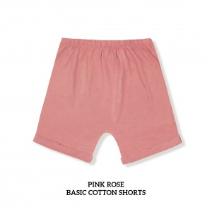 PINK ROSE Basic Cotton Short