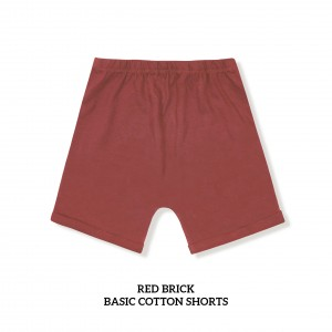 RED BRICK Basic Cotton Short