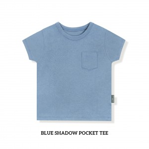 BLUE SHADOW Pocket Tee