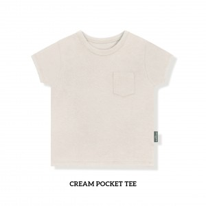 CREAM Pocket Tee