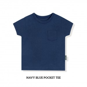 NAVY BLUE Pocket Tee