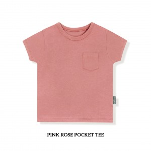 PINK ROSE Pocket Tee