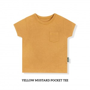 YELLOW MUSTARD Pocket Tee