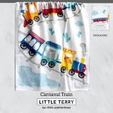 CARNAVAL TRAIN LITTLE TERRY TOWEL