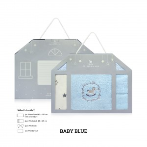 BABY BLUE Newborn Gift Set