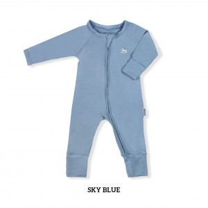 SKY BLUE Baby Sleepsuit