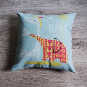 Giraffe Pillow Cover