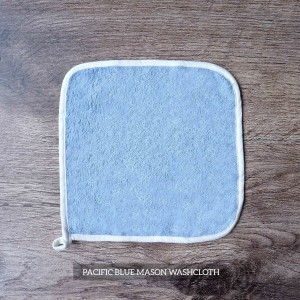 Mason Washcloth Set Of 4 Pacific Blue