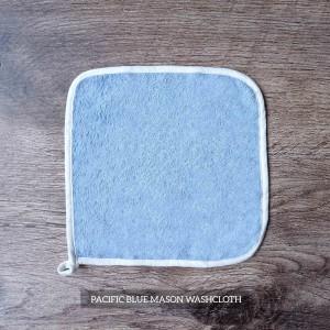 Mason Washcloth Set Of 4 Pacific Blue