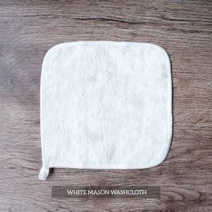 Mason Washcloth Set Of 4 White