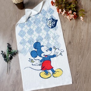 MICKEY DRAWING LITTLE TERRY TOWEL