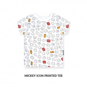 Mickey Icon Printed Tee