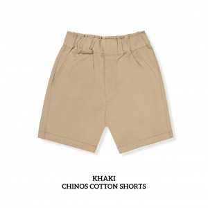 KHAKI Chinos Cotton Short