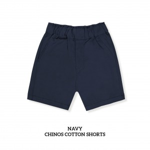 NAVY Chinos Cotton Short