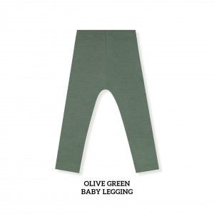 OLIVE GREEN Baby Legging