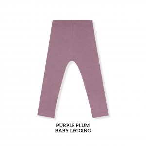 PURPLE PLUM Baby Legging