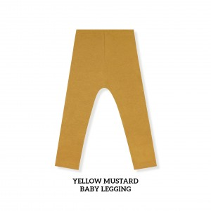 YELLOW MUSTARD Baby Legging