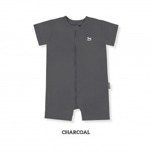 CHARCOAL Zippy Playsuit
