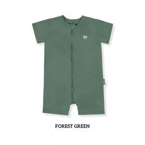 FOREST GREEN Zippy Playsuit