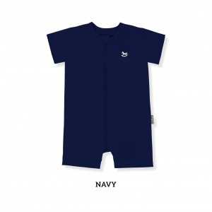 NAVY Zippy Playsuit