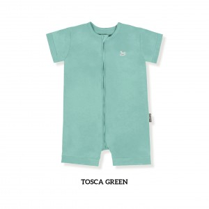 TOSCA GREEN Zippy Playsuit