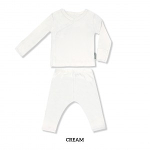CREAM Baby Kimono Long Sleeve Set
