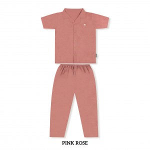 PINK ROSE MOMS PJS SET