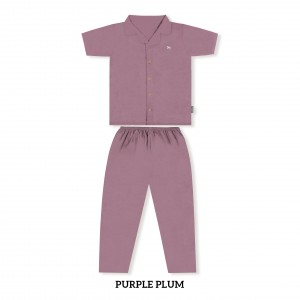 PURPLE PLUM MOMS PJS SET