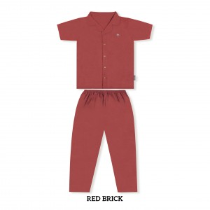 RED BRICK MOMS PJS SET