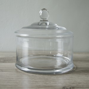Glass Cake Dome Round