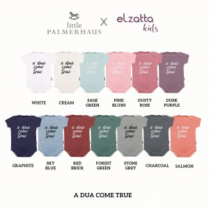 A DUA COME TRUE EVERYDAY WEAR BODYSUIT SHORT SLEEVE ELZATTA