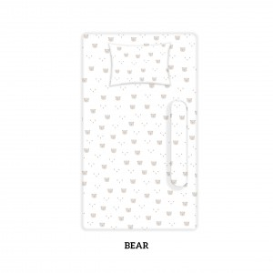 BEAR Cotbed Sheet