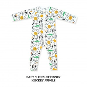 MICKEY JUNGLE Baby Sleepsuit Disney