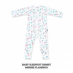 MINNIE FLAMINGO Baby Sleepsuit Disney