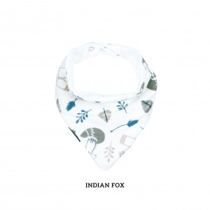 Indian Fox Bandana Bib