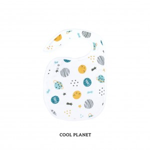 Cool Planet Snappy Bib